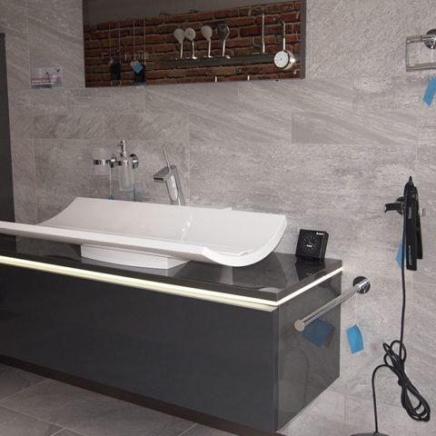 Innovative Bagestaltung und eine reichliche Auswahl an Waschbecken in 74850 Schefflenz.
